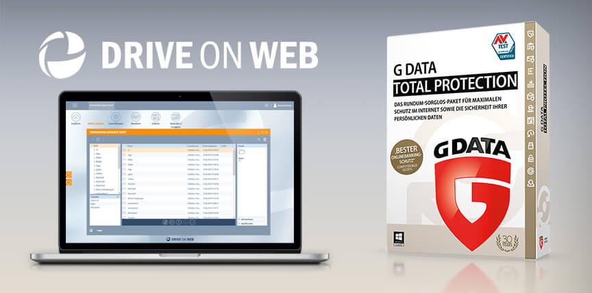 G DATA und DriveOnWeb: Eine starke Partnerschaft für Ihre Sicherheit