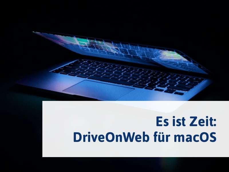 DriveOnWeb für macOS